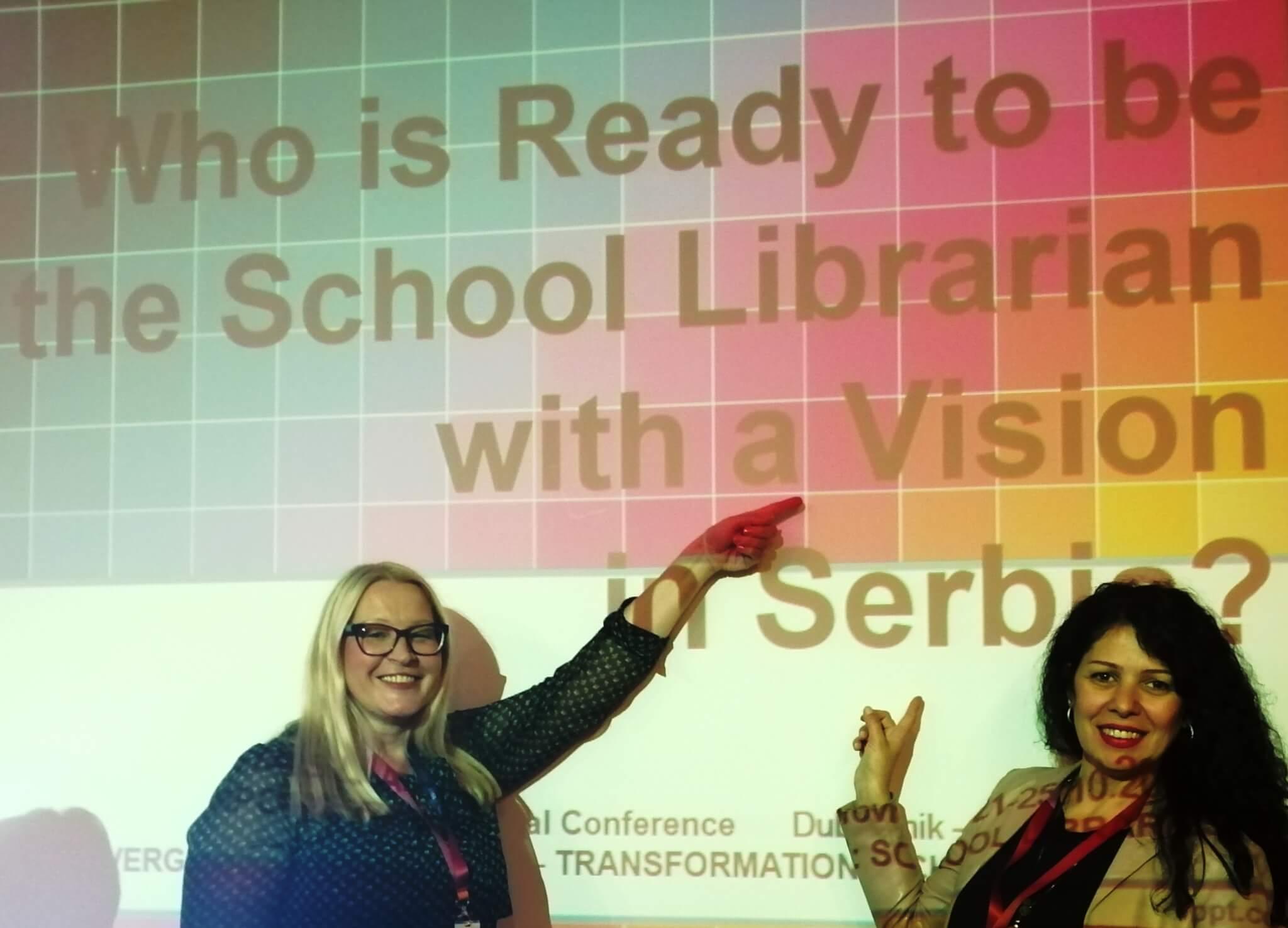 Снага визије школских библиотекара чланова БДС